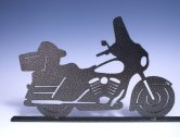 Bagger Motorcycle Mailbox Topper